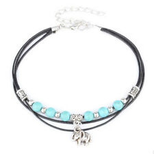 Plated Silver Sandal Women Barefoot Ankle Anklet Bracelet Foot Chain Jewelry