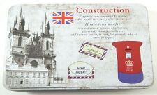 Stile vintage post card Design Cucina Food Storage TIN BOX per tè matita my-2088