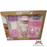 Baby Tinkles Dolls World Full Doll Set Drink + Wet Doll Sleeping Eyes 13pcs