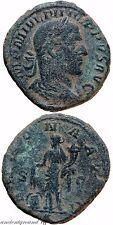 ROMAN SESTERTIUS COIN PHILIP I THE ARAB ANNONA AVGG S  C 244-249 AD