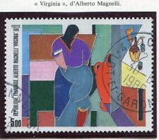 STAMP / TIMBRE FRANCE OBLITERE N° 2414 TABLEAU ALBERTO MAGNELLI
