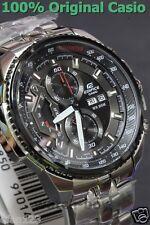 EF-558D-1A Genuine Casio Men's Watch Edifice Black Analog Date Day Chronograph