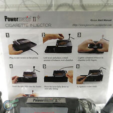 Latest Updated Powermatic 2 Electric Cigarette Injector Machine ryo rolling New