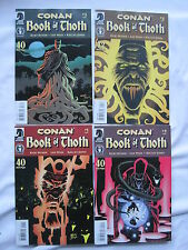CONAN : BOOK of THOTH complete 4 issue series by BUSIEK,WEIN, KELLEY JONES. 2002