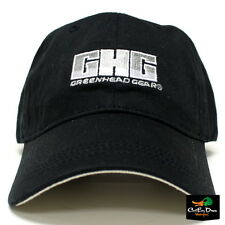 AVERY GREENHEAD GEAR GHG COTTON TWILL LOGO CAP BALL CAP HAT BLACK