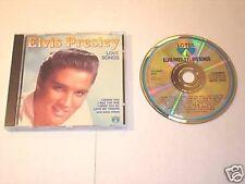 ELVIS PRESLEY LOVE SONGS IMPORT CD  MINT !
