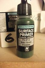 MODEL PRIMER 17ml  VAL70612 	 Vallejo Polyurethane - Primer Nato Green