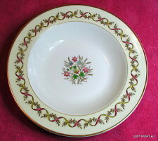"Wedgwood (Sandringham - Pink) 8 1/8"" RIMMED SOUP BOWL(s) (6+ avail)"