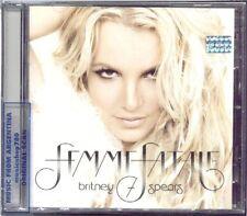 BRITNEY SPEARS FEMME FATALE + BONUS TRACKS DELUXE CD
