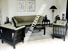 Modern  Wooden Sofa Set  3 + 1 + 1 + Center table !!