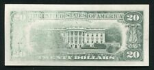 """1988A $20 FRN FEDERAL RESERVE NOTE """"INSUFFICIENT INKING ERROR"""" GEM UNCIRCULATED"""