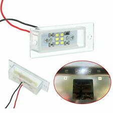 For Roll Pan Clear Light Led License Plate Lamp Tag Plastic Universal