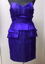 Temperley London Silk mix structured strapless Verona dress Size 14  , .... #*7