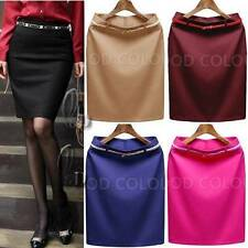Polyester Wear to Work Straight, Pencil Skirts for Women