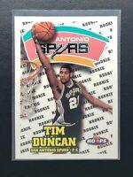 1997-98 Hoops Tim Duncan RC, Rookie Card, San Antonio Spurs