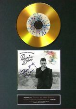 #127 Panic! At The Disco GOLD CD Signed Reproduction Autograph Mounted