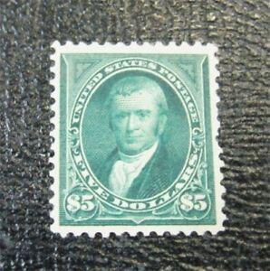 nystamps US Stamp # 278 Mint OG H $2000   J15x1606