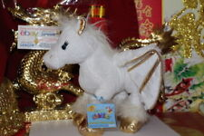 Webkinz GOLDEN PEGASUS.COMES WITH SEALED/UNUSED CODE/TAG-NICE GIFT