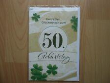 50 Geburtstagskarten Geburtstagskarte Glückwunschkarten Grußkarten 516590 TA