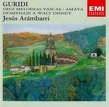 Guridi: 10 MELODIAS Vascas-Amaya/JESUS Arambarri/CD (EMI CDM 7 64558 2)
