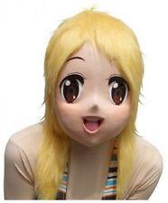 Rubber Anime Girl Maririn Mask costume Party Kigurumi Halloween Japan