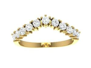 Engagement Ring VVS1 E 0.40 Ct Round Diamond 14K Yellow Gold Appraisal Prong Set