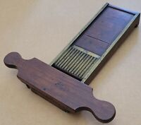 Antique Solid Mahogany Brass Pill Counter Roller Druggist Pharmacy Apothecary