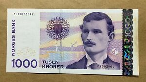 NORWAY - 1000 KRONER - ND2004 - P52b - ABOUT UNCIRCULATED