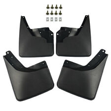 4x Front & Rear Splash Guards Mud Flaps for Hummer H3 2006 2007 2008 2009 2010