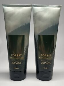 Bath & Body Works Forest Men's Collection Ultra Shea Body Cream-8oz 2 PACK