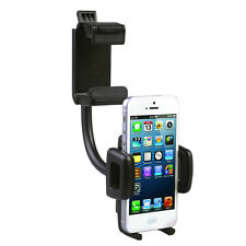 Universal 360° Car Air Vent Holder Rearview Mirror Mount Stand Cradle for Phone