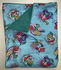 Child weighted blanket Disney Little Mermaid Ariel 5 Lbs. Handmade