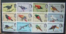 1962 British Honduras  SC #167-78  BIRDS  MH stamp set