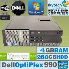 Computer desktop Dell con hard disk da 250GB RAM 4GB