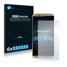 6x Displayschutzfolie für ZTE Axon 7 Schutzfolie Klar Folie Displayfolie