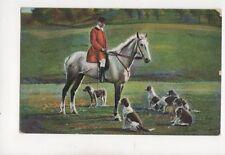 Hunting 1907 Postcard Milton Animals 279b