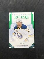 2017-18 UPPER DECK ARTIFACTS ALEXANDER NYLANDER ROOKIE EMERALD GREEN #ed 77/99