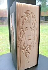 More details for stevie nicks - folded book art - fleetwood mac - 'mirror mirror' - unique gift
