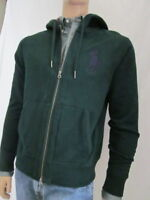 Ralph Lauren Green Zipped Sweatshirt Cardigan Jacket -Large- NWT