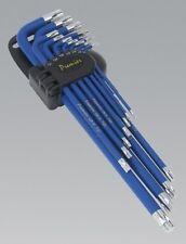 Sealey AK7165 Torx Star Key Set 13p Anti-slip Xtra Long