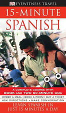 NEW 15-minute Spanish: Learn Spanish in Just 15 Minutes a Day (Book & 2 CDS)