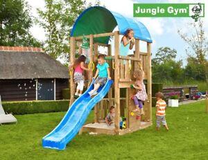Jungle Gym Farm Climbing Frame - Build Your Own Plans