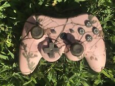 PowerA Pro Realtree Wireless Controller Camo Pink (PS3) 142044 INCOMPLETE