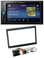 Pioneer 2DIN MP3 USB AUX Autoradio für Citroen C3 C2 Berlingo Jumpy schwarz