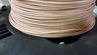 AUTOMOTIVE WIRE 18 AWG HIGH TEMP GXL STRANDED WIRE TAN 25 FEET
