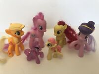 My Little Pony Apple Jack Pinkie Pie (Lot Of 6)