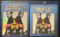 2 Fast 2 Furious (Blu-ray Disc, 2013) NO DIGITAL With Slipcover