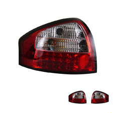 LED Tail Lights For Audi A6 2001-2004 Sequential Signal Dark/Red Replace OEM
