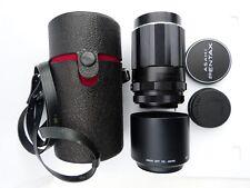 Pentax Takumar Super-Takumar 135 mm f3.5 Lens Hood case Très bon état