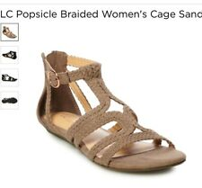 Lauren Conrad New Gladiator Sandals 7 Baneberry Taupe Suede Cute FREE SHIPPING